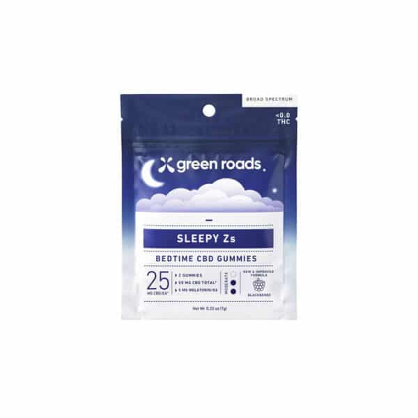 green roads cbd edibles sleepy z gummies fifty mg